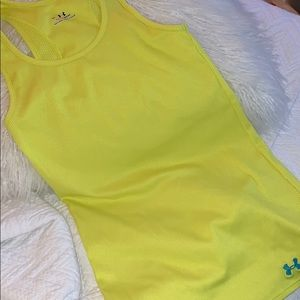 Under armour ribbed heat gear tank